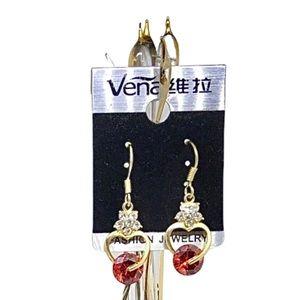 Adorable gold toned earrings 💝